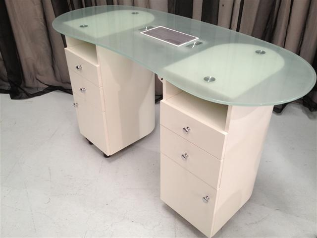 Manicure table with fan for Manicure table with extractor fan
